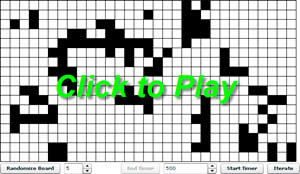 Conway's Game of Life -- Click to Play