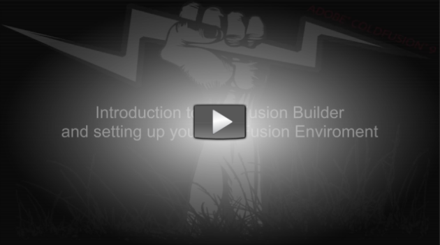 ColdFusion Builder Introduction