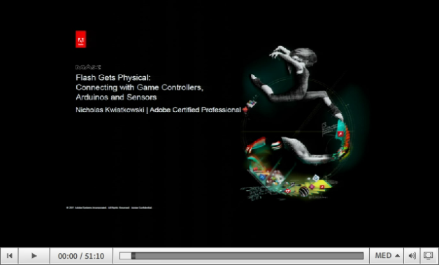 Video Player - MAX 2011 Preso