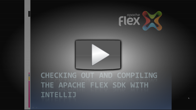 Compiling the Apache Flex SDK with IntelliJ | QueTwo's Blog