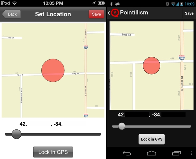 GPS and Map solution on iOS and Android